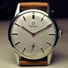 1964 vintage OMEGA cal269 17j manual watch NR (528)