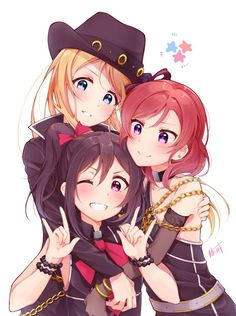 Image de anime girl and love live Anime Love, Anime Girl Cute, Kawaii Anime Girl, Anime Art Girl, Anime Girls, Anime Best Friends, Friend Anime, Manga Girl, Chibi