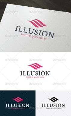 Illusion Logo .This image is available on GraphicRiver.       • Fully Editable Logo  	 • CMYK  	 • AI, EPS, PSD, PNG files  	 • Easy to Change Color and Text    GraphicRiver Details:                 Created: 6 February 14                    Graphics Files Included:   Photoshop PSD, Transparent PNG, Vector EPS, AI Illustrator                   Layered:   Yes                   Minimum Adobe CS Version:   CS                   Resolution:   Resizable             Tags      abstract, business…
