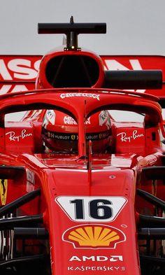 2018/11/29: Twitter:@F1: A perfect start for @ScuderiaFerrari new boy #Charles_Leclerc Sports Car Racing, F1 Racing, Drag Racing, Race Cars, Ferrari Racing, New Ferrari, Formel 1 Start, Ferrari World Abu Dhabi, Mick Schumacher