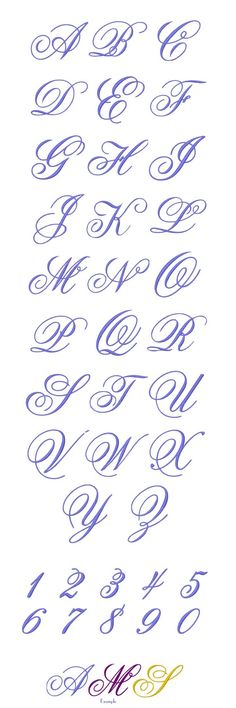 Resultado de imagen de Alfabeto Rouyer 254