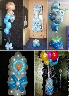 Decorado con globos