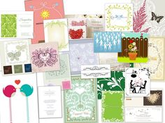 http://daintree.ie/ Ideas for wedding invites Once you know what kind of wedding you want to have (any predominant colours, seaside theme, w...