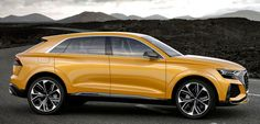 Audi Q8 Sport Concept, 2017. A new version of the prototype for Audi's new full-size SUV Coupe which has been presented at the Geneva Motor Show