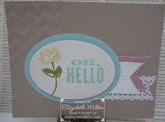 Oh, Hello Stampin' Up! Stamp set