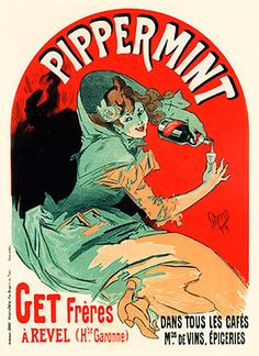 Pippermint. Jules Cheret