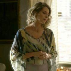 Saiba de onde É: Blusa Estampada que Soraya, Leticia Spiller, usou na novela I Love Paraisópolis