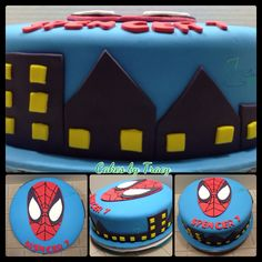 Spiderman by Cakes by Tracy on www.cakeside.com!