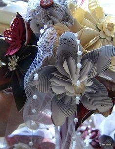 Origami Wedding Bouquets Corsages Toss by GracelinePaperStudio, $35.00