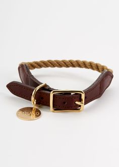 Rope Dog Collar - a manly one for Boo