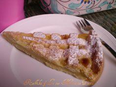 Crostata alla crema,ricetta dolce | Raffika & Le sue Mani in Pasta