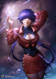 Shermie,spade-m,King Of Fighters,Игры,game art Art Of Fighting, Fighting Games, Anime Girl Hot, Anime Art Girl, Game Character, Character Design, Snk King Of Fighters, Dnd Elves, Videogames
