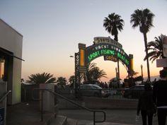 Almost Summer in Santa Monica, California