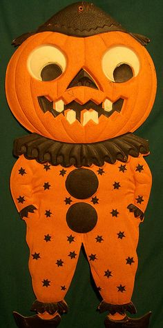 ill be posting of these amazing german diecuts found at http - German Halloween Decorations