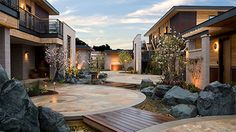 Bardesonno Hotel & Spa is an eco friendly hotel, with lush yards and modern chic designs in the Napa Valley area.