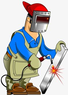 Cartoon construction worker renovation PNG and Clipart