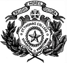St. Thomas College seal, 1930s