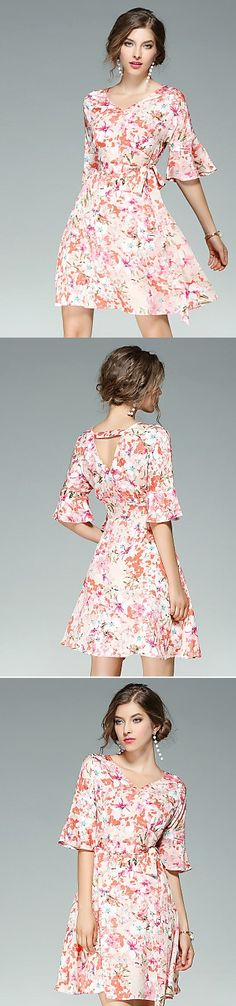 Loving the shape from this dress. You gotta love it for spending the last summer days! Shop for 34.77 Click for more info.