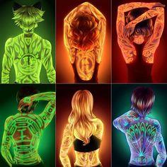 "3,710 Likes, 12 Comments - Mlb Artist Graphic (@mlb_ladybug) on Instagram: ""Tattoo Miraculous [Credit: Skaylanphear on Tumblr] _________________ #Miraculous…"""