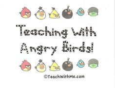 Teaching With Angry Birds