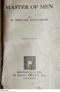 "Keith Dolphin from Erdington who has found a Leistershire County Library book called ""Master of Men,"" by E. Phillips Oppenheim, which is now 79 overdue. Library staff have waived an £11,500 fine."