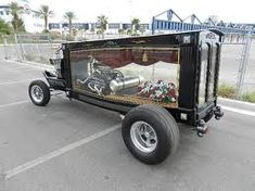 the last ride. Weird Cars, Cool Cars, Classic Hot Rod, Classic Cars, Vintage Cars, Antique Cars, Flower Car, Bizarre, Sweet Cars