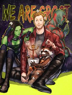 WE ARE GROOT!