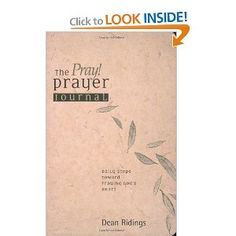"""I'd be remiss if I didn't """"pin"""" the prayer journal! :-)"""