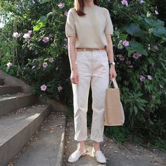 Inspirational Ideas For Dress Casual Vintage Beautiful Korean Casual Outfits, Casual Chic Outfits, Trendy Outfits, Fashion Outfits, Dress Casual, Korean Girl Fashion, Korean Fashion Trends, Minimalist Fashion Women, Minimal Fashion