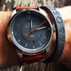 oak & oscar beautiful watch
