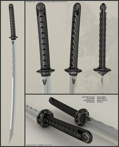 Concept of futuristic katana. it was quickjob. I needed to make it in one session. No time for scabbard. Worked in 3ds max, used vray rendering engine and finished it in photoshop. Model is h...