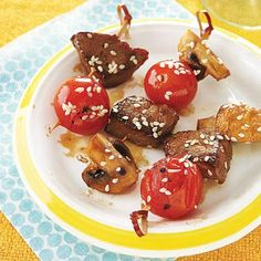 Easy Party Appetizer: Beef Teriyaki Skewers