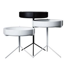 Drum tables by Warm http://www.dezeen.com/2012/05/29/designed-in-hackney-drum-tables-by-warm/