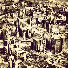 Today in WW2 History: 1/14/1942 Hamburg is bombed for the first time by the RAF. 17 raids over the course of the war destroyed 75% of the city.