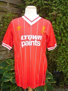 0c61c3f7f09  84 Liverpool home shirt. Umbro.