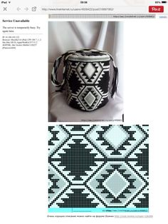 This Pin was discovered by Kat Tapestry Crochet Patterns, Crochet Stitches Patterns, Crochet Chart, Stitch Patterns, Knitting Patterns, Knit Crochet, Tapete Floral, Mochila Crochet, Tapestry Bag