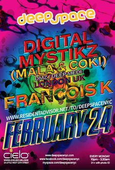 RA: Digital Mystikz (Mala & Coki) at Cielo, New York