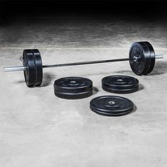 Set includes one Ohio Bar, 320lb ROGUE HG Bumper Set, and spring collars. Great weightlifting starter kit. Contact Rogue today for more info or to place your order.