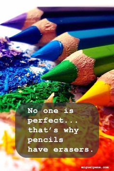 No one is perfect, t