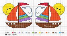Risultati immagini per ponto cruz barco Stitch 2, Square Quilt, Cross Stitching, Pixel Art, Cross Stitch Patterns, Life Is Good, Book Art, Needlework, Pikachu