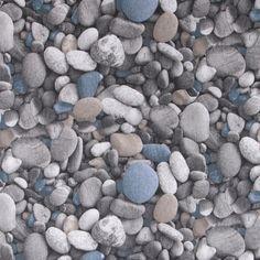 Decorative pebbles Pebbles solid blue