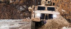 Joint Light Tactical Vehicle (JLTV) driving through water