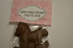 Rocking Horse Baby Shower Favor by ChocolateExpress on Etsy, $21.00