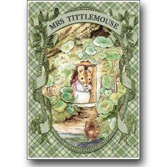 Peter Rabbit card series - Mrs Tittlemouse on Lish