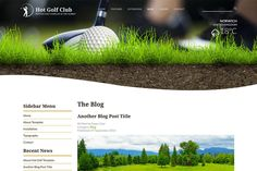 Ad: Hot Golf by hot-themes on @creativemarket. Responsive template, based on clean HTML5/CSS3 code, and powered by Sparky Framework for Joomla. 3 pre-defined color styles. All colors are #creativemarket Themes Photo, Web Themes, Joomla Themes, Site Down, All The Colors, Typography, Golf, Templates, Photography Ideas