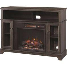 Signature Design by Ashley W697 Fireplace TV Stand   fireplace tv ...