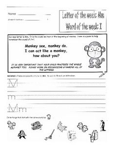 This file contains 32 weeks worth of Kindergarten homework.  It has letter work, sight words, writing, spelling,
