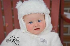 winter bear baby photography © Jillian Keller Photography
