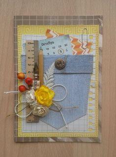 Teacher Cards, Teacher Gifts, School Gifts, Homemade Gifts, Thank You Cards, Paper Art, Calendar, Creations, Scrapbook