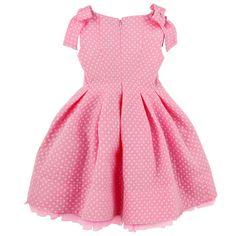 Sleeveless spotted dress Cute Girl Dresses, Little Girl Dresses, Tulle Dress, Pink Dress, Nigerian Outfits, Indian Wear, Frocks, Baby Dress, Toddler Girl